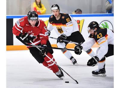 Canadá x Alemanha no Mundial de Hóquei no Gelo - Brasil Zero Grau