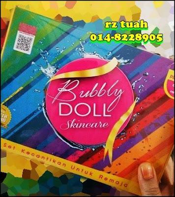 bubbly doll skincare murah original