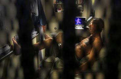 California's death row, San Quentin prison