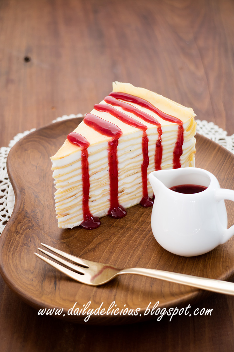 Berry Crepe Cake Recipe