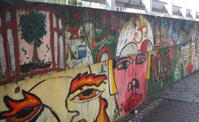 Graffiti  in Bratislava