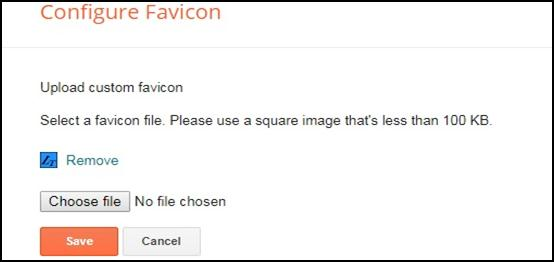 Add Favicon (URL Icon) to blogger blog