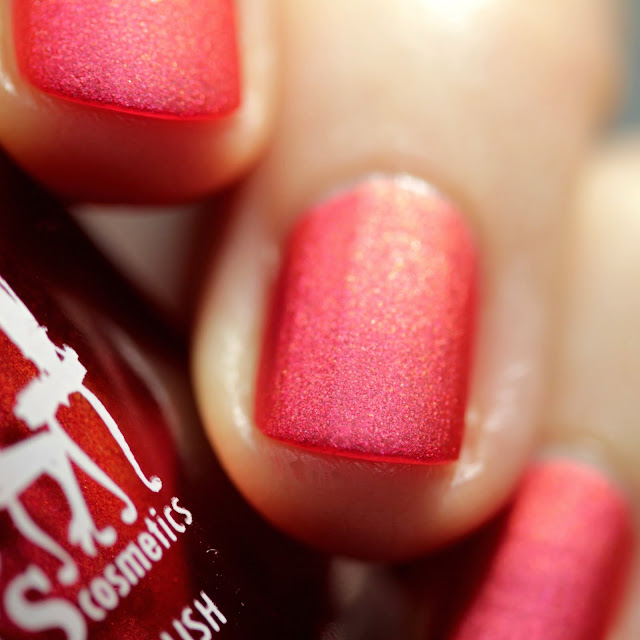Girly Bits Left Them on Red swatch by Streets Ahead Style