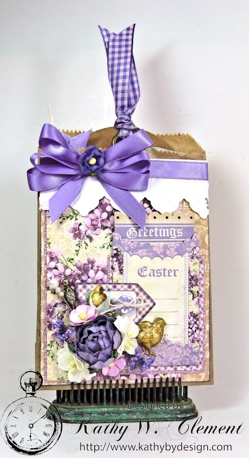 Hey Chickie Easter Treat Bag 01