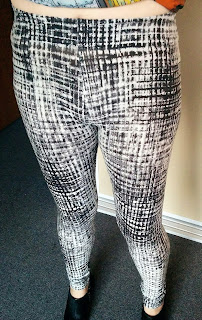 Creates Sew Slow: Self-drafted Tessuti Leggings