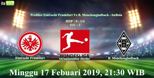 Prediksi Eintracht Frankfurt Vs B. Monchengladbach - ituBola