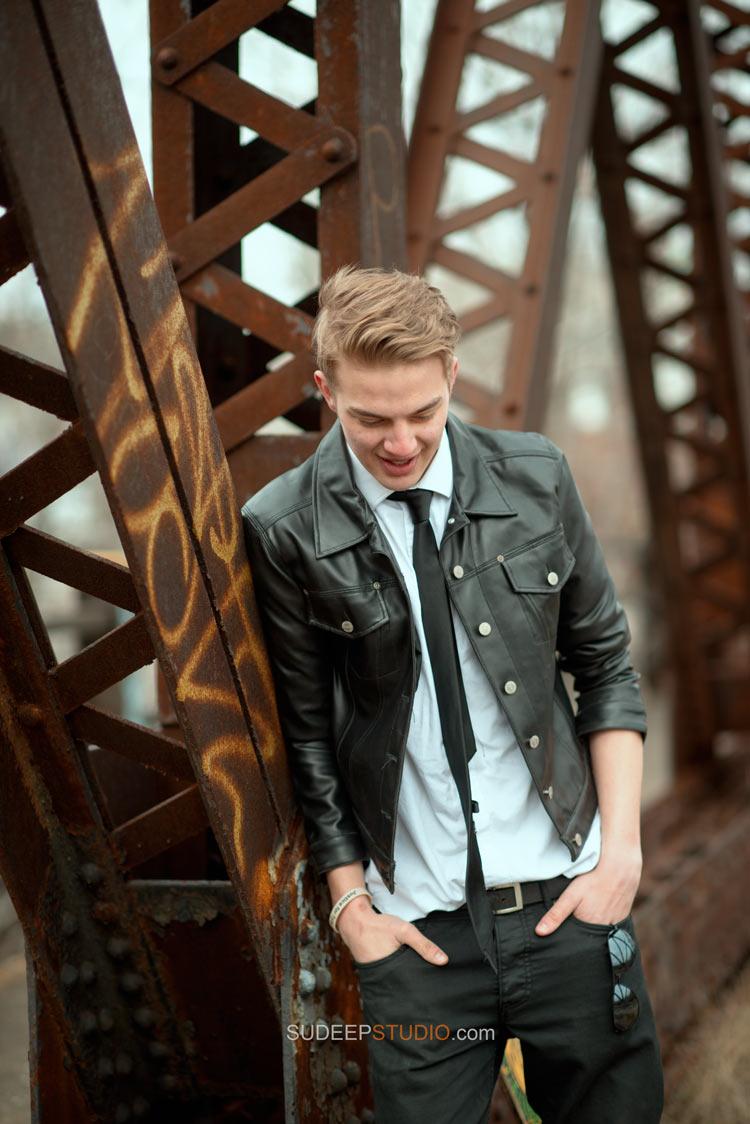 Stylish Senior Pictures for Guys - Ann Arbor - Sudeep Studio.com