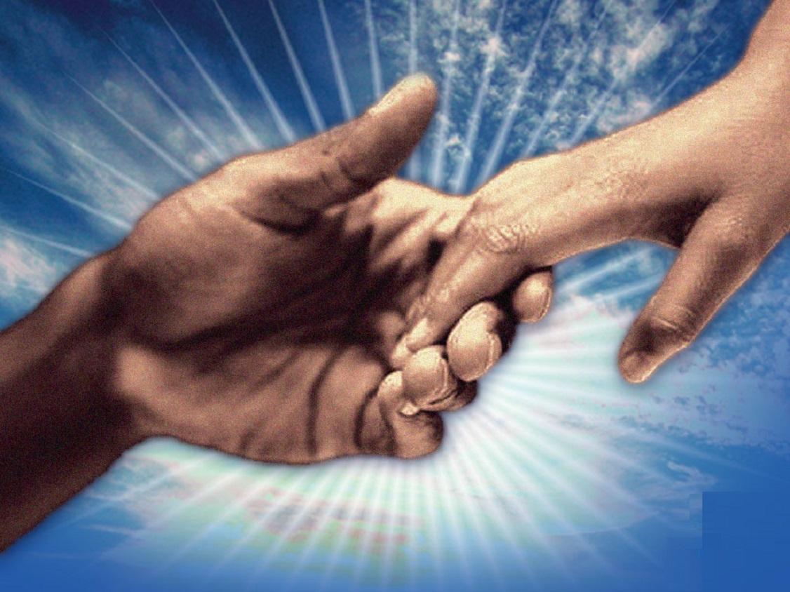 Coisas Do Amor...: Mão Dadas Com Deus