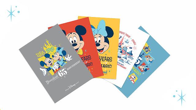 Disneyland Park 65th Anniversary lithographs Merchandise Online
