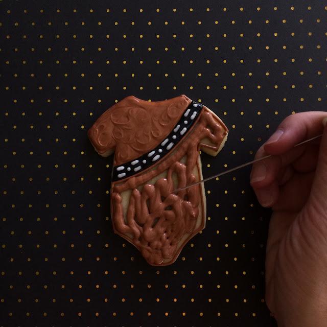 Star Wars Baby Shower Cookies by Sweet Jenny Belle
