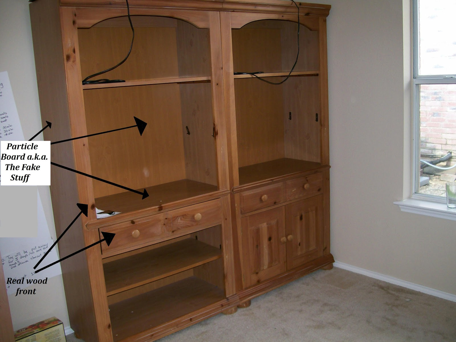 How To Paint Pressboard Cabinets | www.resnooze.com