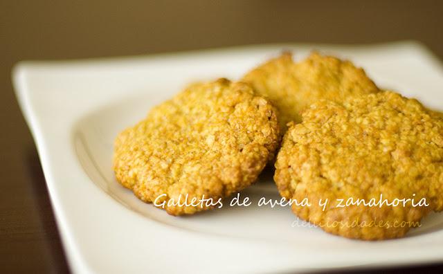 deliciosidades - Galletas de avena y zanahoria