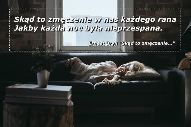zmęczona dziewczyna