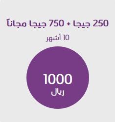 شرح الإشتراك في باقة إنترنت 1000 ريال 250 جيجا من stc الإتصالات السعودية 2018