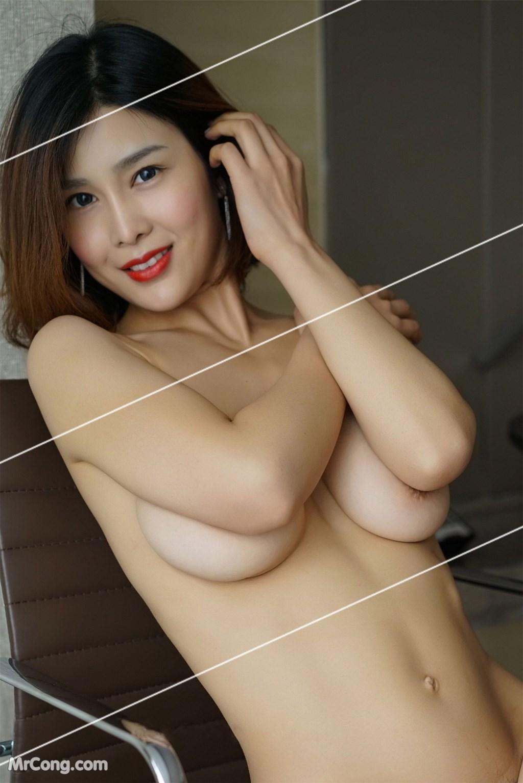 Image Yan-Pan-Pan-Part-3-MrCong.com-040 in post Ngắm vòng một siêu gợi cảm với nội y của người đẹp Yan Pan Pan (闫盼盼) (51 ảnh)