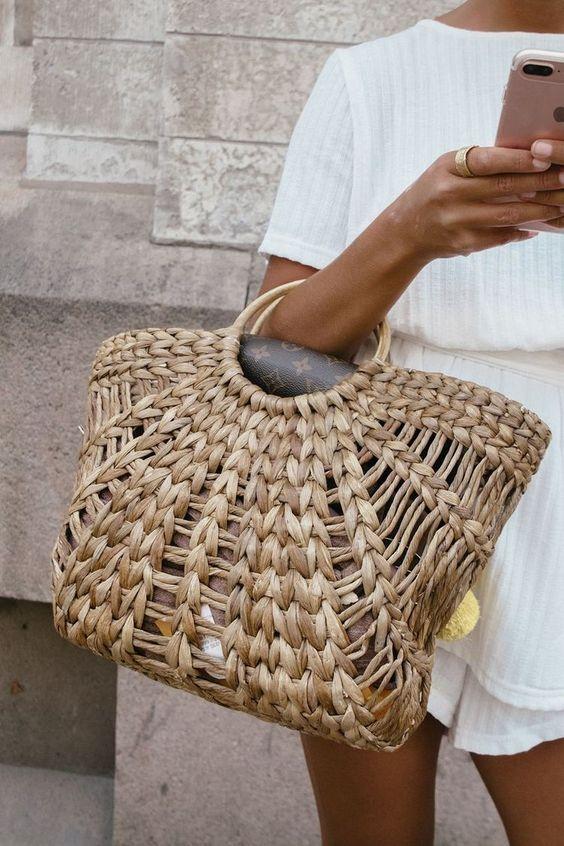 Basket Bags / Bolsos Cesta - FRONT ROW