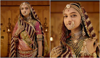 Deepika Padukon Blouse In Padmavat - Best Blouse Design
