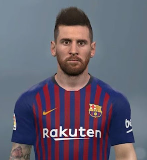 PES 2017 Faces Lionel Messi by Ben Hossam FaceMaker