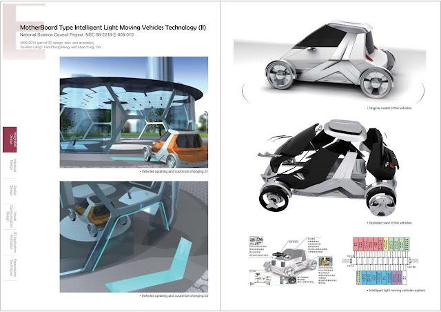 創新載具車輛設計,梁又文老師設計作品集