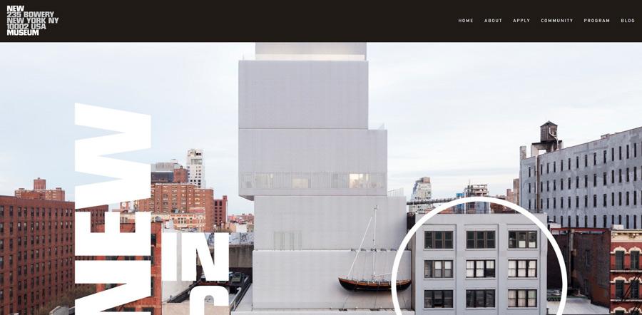 Example Squarespace website design