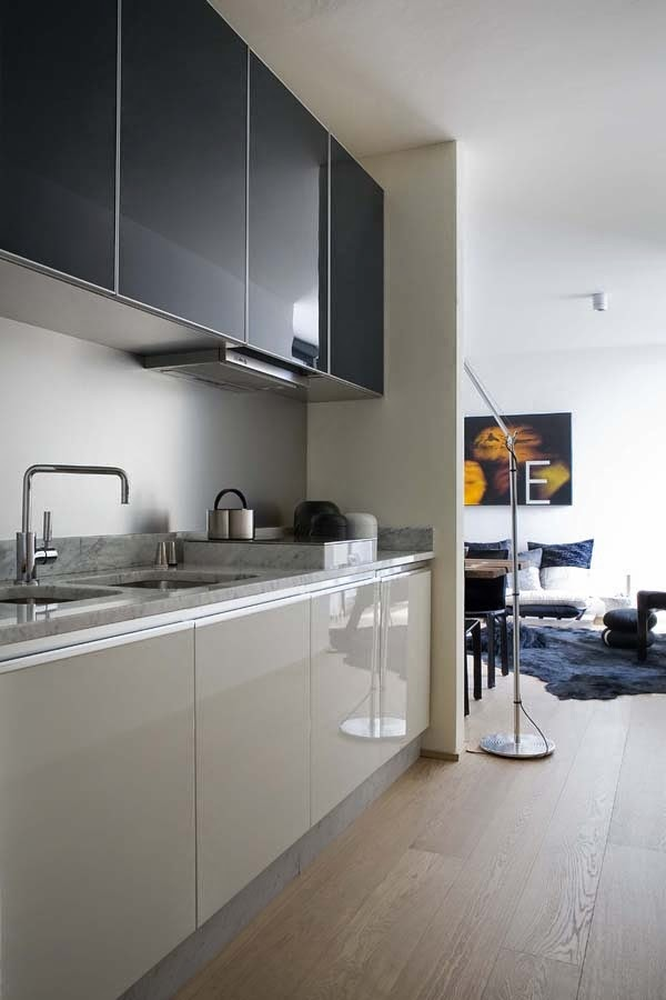 Muebles De Cocina En Dos Colores - Muebles-de-cocina-de-colores