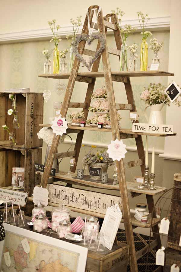vintage wedding decor romantic decoration. Black Bedroom Furniture Sets. Home Design Ideas
