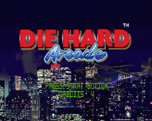 Die Hard Arcade Saturn analisis