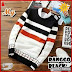 AND334 Sweater Pria Ranggo Tribal Hitam BMGShop