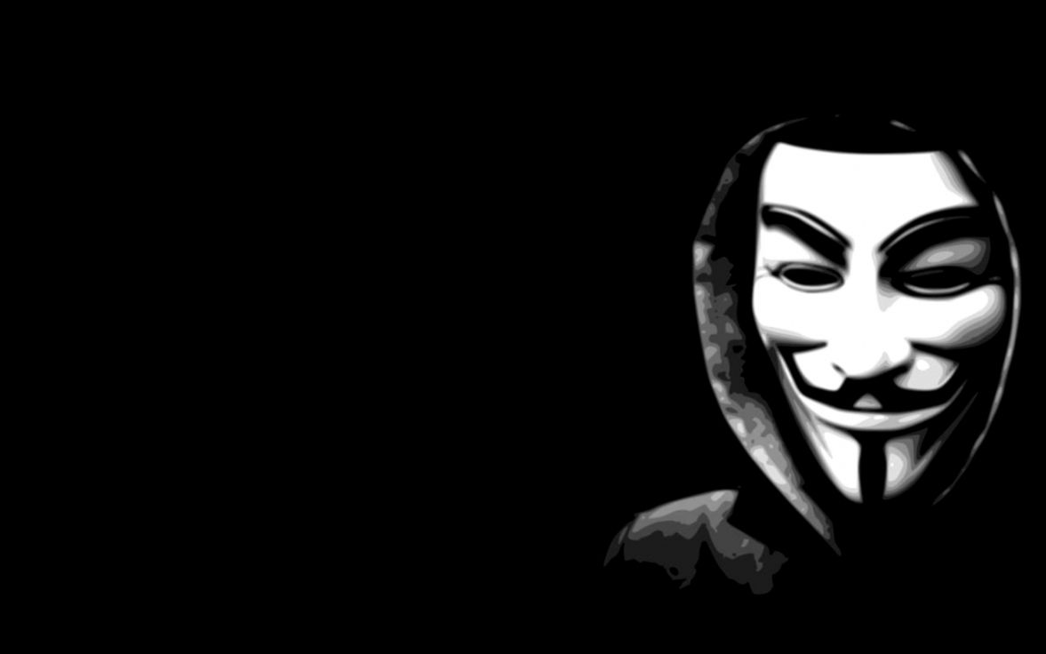 Black anonymous mask wallpaper all hd wallpapers - Anonymous wallpaper full hd ...