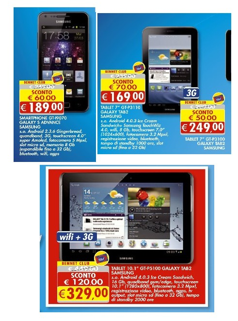 sports shoes a7d2b c5837 Offerte smartphone, tablet e Smart Tv Samsung sul Volantino ...