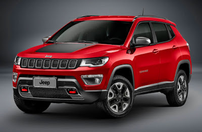 2017 Jeep Compass Red image