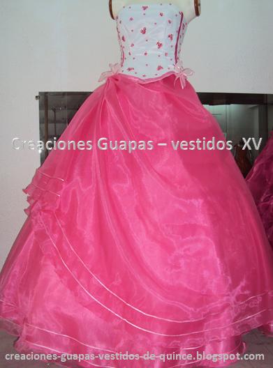 576954272e Vestido de 15 - modelo Magy ~ Creaciones Guapas - Vestidos de 15 años