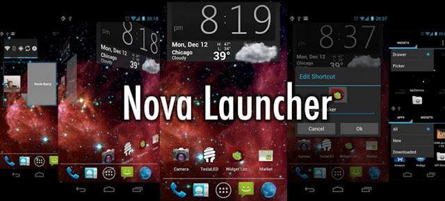 نتيجة بحث الصور عن Nova Launcher