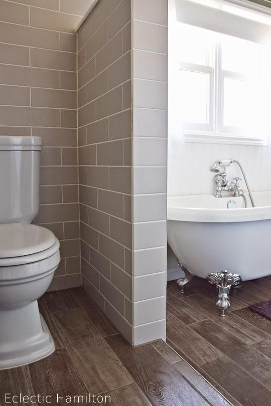 Das badezimmer endlich eclectic hamilton - Fliesen ehrlich ...