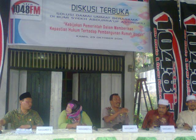 DPRK : Pemerintah Diminta Tuntaskan Konflik Umat di Aceh Singkil
