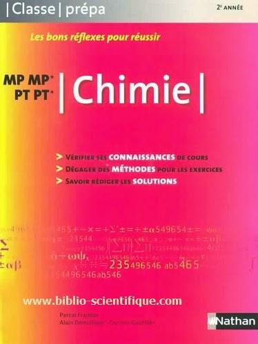 Livre : Chimie - MP MP*, PT PT* - Nathan