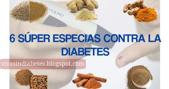 6 Súper Especias que te ayudarán contra la Diabetes ~ Viva