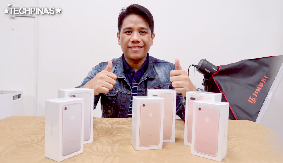 Apple iPhone 7 Plus Philippines, Mark Milan Macanas