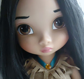 muñeca bebe pocahontas