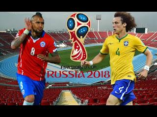 Brasil vs Chile en Fecha Final Eliminatorias 2017