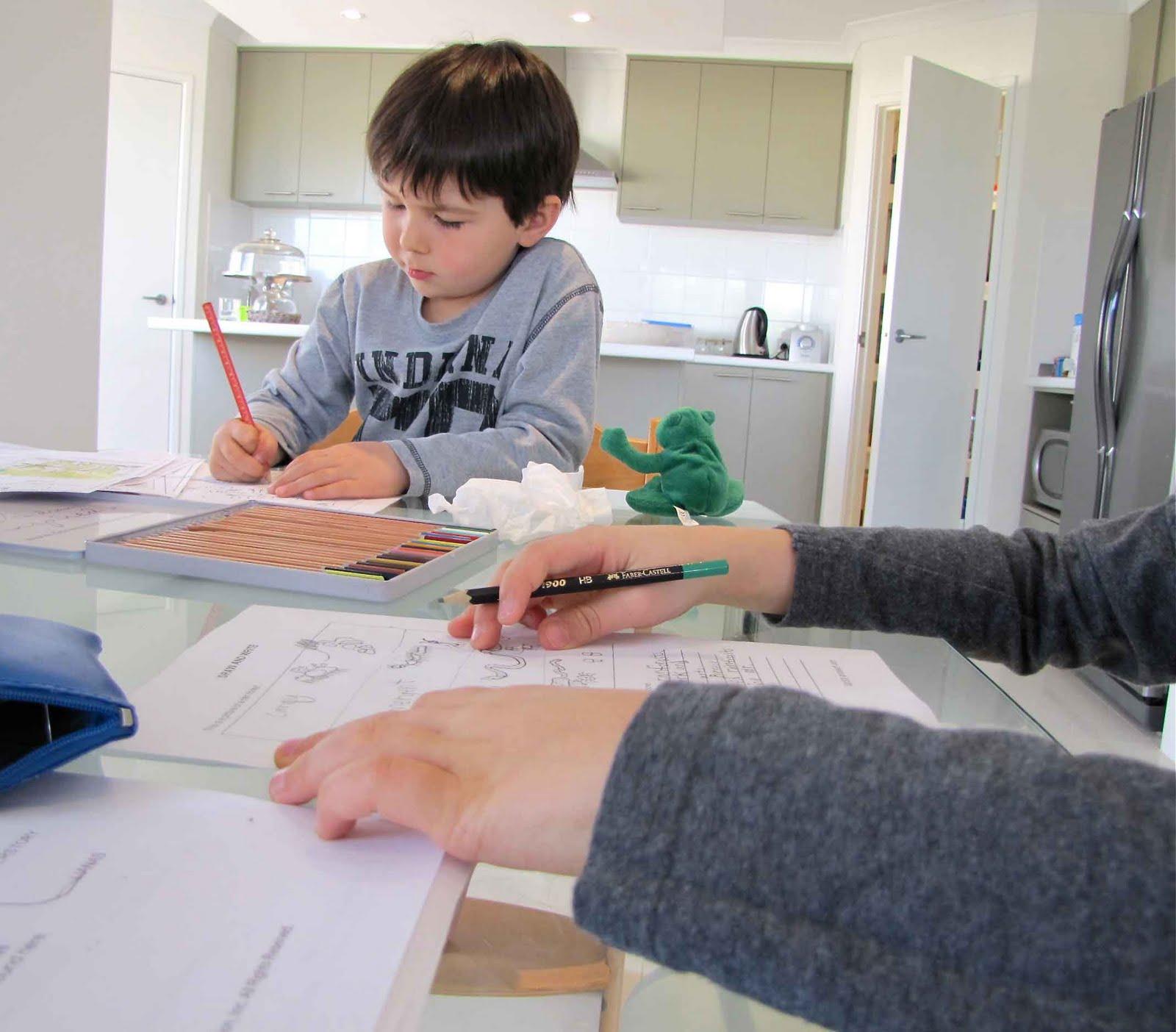 Homeschool Rainforest Study