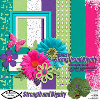 We Believe Blog Train - May 2018 - Strength and Dignity