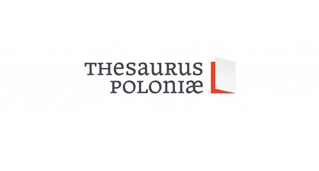 Logo programu Thesaurus Poloniae