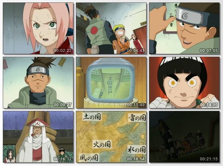 Naruto Episode 37 | Surviving the Cut: The Rookie Nine