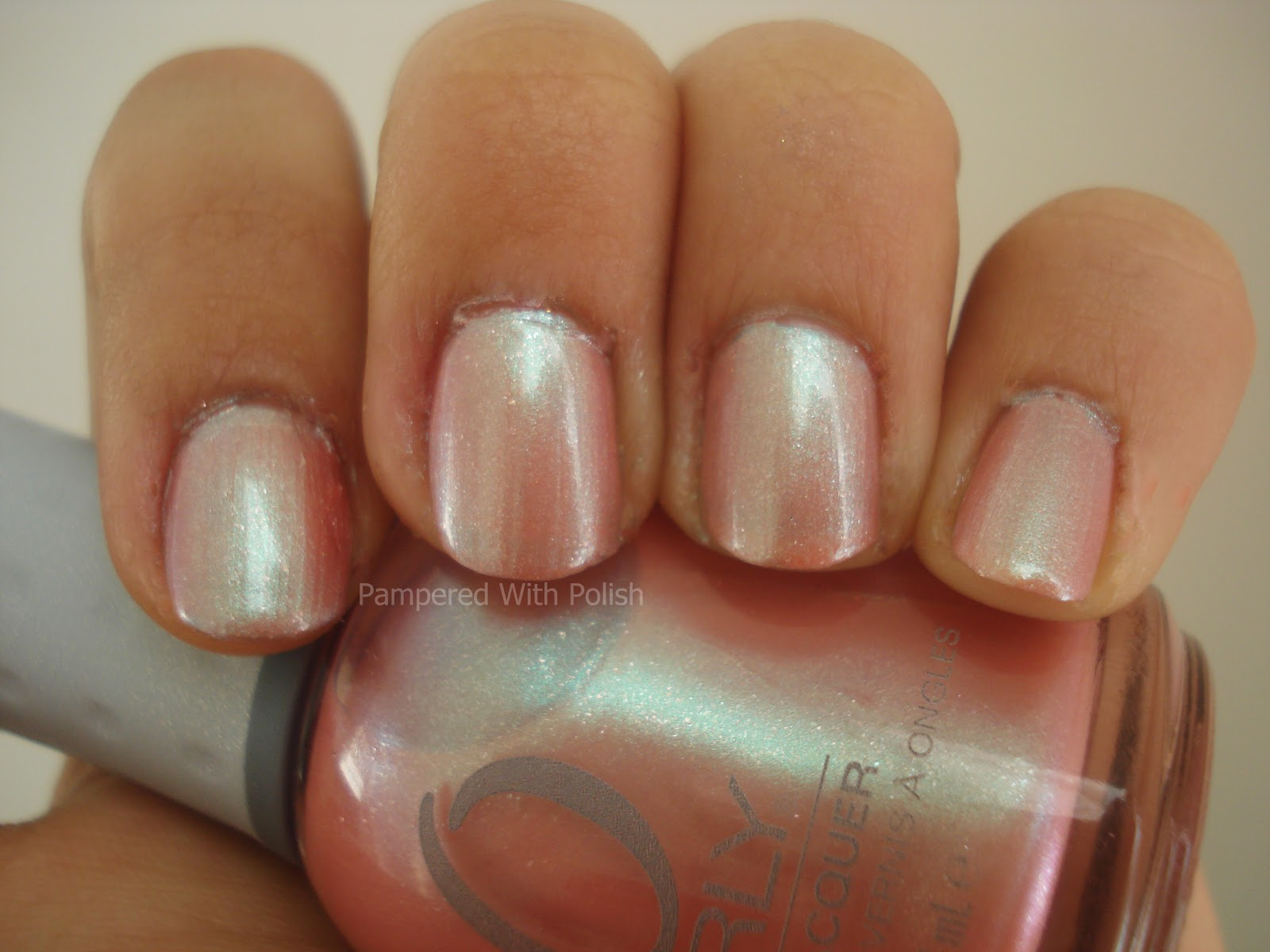 Inspirational Delight Nail Polish Review Orly Opal Hope