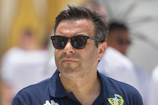 Leeds United owner Andrea Radrizzani has promised his players and staff a trip to Las Vegas should the Whites earn promotion to the Premier League.