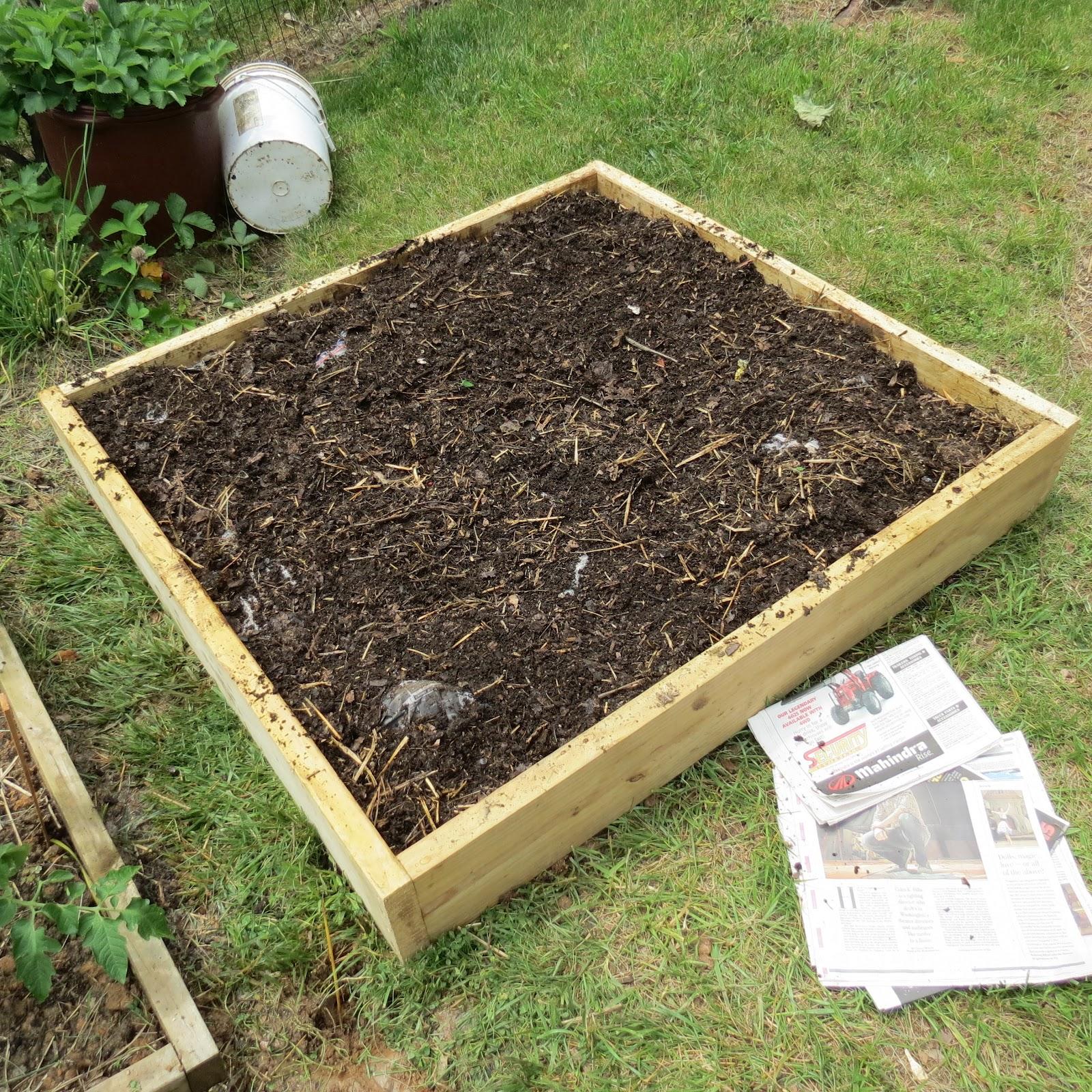 Raised Vegetable Garden Soil Layers