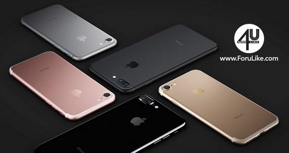آيفون 7 هو الهاتف الأكثر شعبية في عام 2017