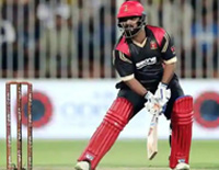 Shahzad's set history by 74 runs from 16 balls in T10 League