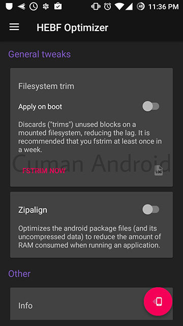 HEBF, Tweak Pendatang Baru Paling Joss untuk Semua Tipe Rooted Android